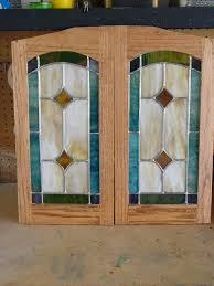 stained glass kitchen cabinets stained glass cabinet doors custom made cabinet door stained glass panels stained