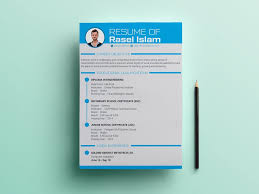Best Modern Clean Resume Design Template Cv Design Free Download Engineering Resume