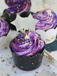 pretty purple cupcake. Interesting Purple Galaxy Cupcakes Throughout Pretty Purple Cupcake D