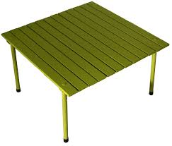 amazon table in a bag a2716g low aluminum portable table with carrying bag green folding patio tables garden outdoor
