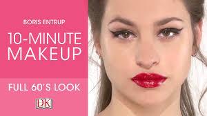 makeup tutorial get the 60s look
