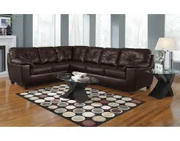 vogue microfiber reversible chaise sectional sofa