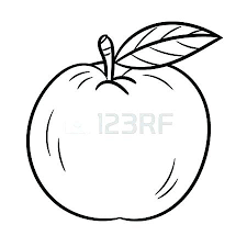 A Is For Apple Coloring Page Houseofhelpccorg