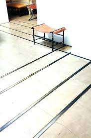 metal tile edging concrete floor with inlay google search tiles aluminum installation