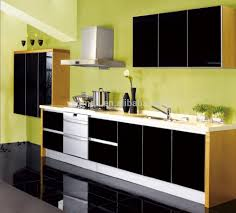 Modular Kitchen Cabinet Color Combinations High Gloss Acrylic