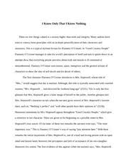 good country people essay good country people do they really  7 pages flannery o conner