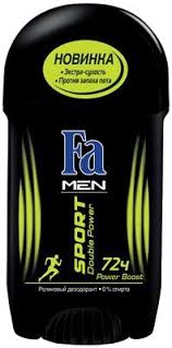 "Дезодорант-<b>стик</b> Fa <b>Men</b> ""<b>Sport</b>. <b>Double</b> Power. Power Boost"", 50 мл"