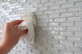 Installing Glass Mosaic Tile Backsplash Impressive Home Improvement Laying Tile On A Fireplace Walls Or Backsplash