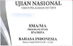 Soal un (unbk/usbn) ini bisa anda gunaka sebagai referensi dalam belajar untuk mempersiapkan diri dalam menghadapi ujian nasional (unbk/usbn) tahun pelajaran. Pembahasan Lengkap Soal Un Tahun Pelajaran 2017 2018 Bahasa Indonesia Sma Ma Nomor 1 50 Zuhri Indonesia