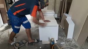 cara membuat kitchen set sendiri teknik atan hpl