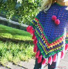 Poncho Patterns For Kids
