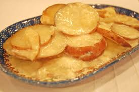 You will end up with soft potatoes that still hold their sliced form, which is cheesy and. Scalloped Potatoes In The Oven Or Slow Cooker Eat At Home