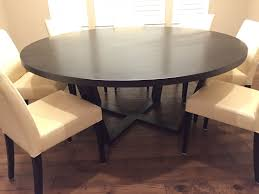 custom made solid maple 72 round dining table