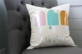 create a pillow cover using this diy pillow cover tutorial if needed or use a pre made pillow cover like this one from joann