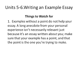 advanced english writing ppt video online  writing an example essay