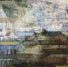 helen shulman leeward oil and cold wax abstract on panel painting for at 1stdibs