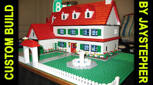 Real Life Lego House Custom Build 3 Bedroom 2 Bath Lego Home Youtube