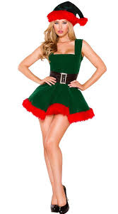 Lovely Pin For Later: You Canu0027t Unsee These Sexy Christmas Costumes Naughty Elf