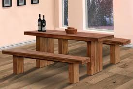 Kitchen Tables With Benches Small Kitchen Table With Bench Home Design Ideas