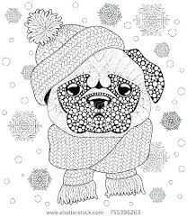 Pug Coloring Free Printable Pug Coloring Pages Good Pugs Coloring