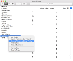 How To Uninstall And Remove Fonts On Mac Creative Fabrica