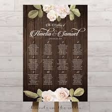 How To Do A Wedding Seating Chart Vintage Floral Wedding Seating Chart