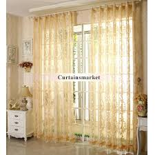 beautiful curtains for light yellow walls home decor bedroom and living room sheer curtain fl interior design best color