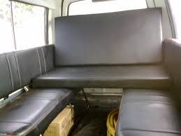 Back Seat Bed Gypsy Mod Pictures Rear Seat Bed Team Bhp