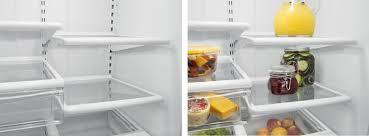 refrigerator racks. whirlpool wrb322dmbm - spillguard glass shelves refrigerator racks c