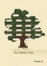 Family Tree Template For Microsoft Publisher Free Templates