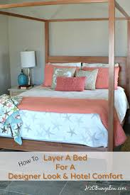 how to layer a bed for style and comfort i m sharing my secret to