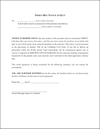 30 day notice to vacate template template notice to vacate template 30 day notice to vacate template