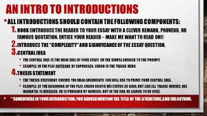 monday ppt 45 an intro to introductions