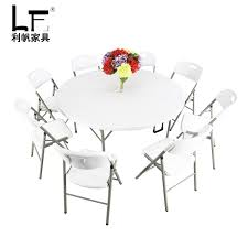 get ations lee sails family dinner table folding conference table and chairs hotel banquet large round table outdoor