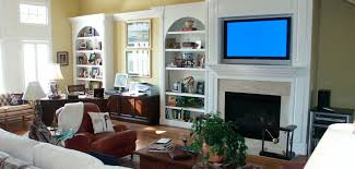 lcd tv installation above fireplace