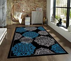 black and gray area rugs large beautiful on budget under arts classy turquoise rug modern carpet new all s plush for living room