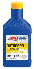 Johnson 2 Stroke Oil Mix Chart Amsoil Outboard 100 1 Pre Mix Synthetic 2 Stroke Oil