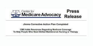 Improvement Standard And Jimmo News Center For Medicare