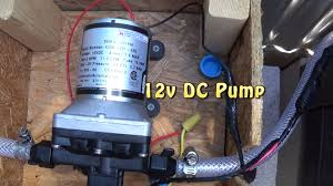 wiring a 12v dc water pump to a switch for my off grid outdoor bathroom triple s bath house you