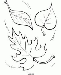 Leaf Coloring Pages Autumn Leaves Coloring Pages Wwwlivingmud in ...