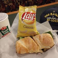 i like the lunch special a sandwich drink and chips all for under seven bucks