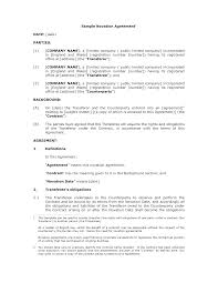 Sample Novation Agreement Novation Agreement Template Freewordtemplatesnet 1