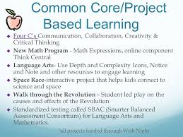 common core project based learning
