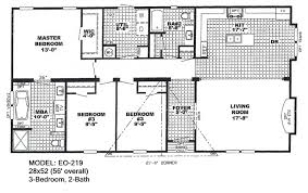 >double wide floorplans mccants mobile homes model eo219 model 6716dt