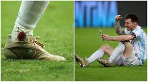 Lionel Messi played Copa America final ...