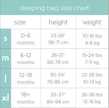 Aden And Anais Sleep Sack Size Chart Aden And Anais Sleeping Bag Size Guide