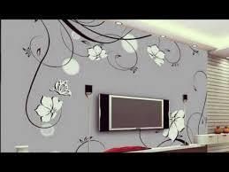 Small Picture 3D Wall Decoration Ideas For TV Wall Units Designs YouTube