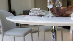 dining chair modern white gloss round dining table and chairs beautiful dining tables astounding round