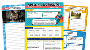 spelling ks2 cial and tial