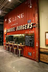 Street Food/Pop-Up Restaurant - Shipping container facade